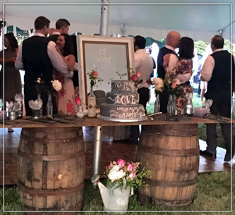 Large Props for Rustic weddings, partiers and social gatherings in Wisconsin