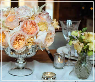 Vases and Small Details for Rustic weddings, partiers and social gatherings in Wisconsin